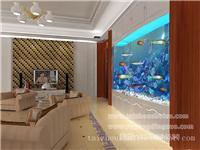 泰州定做墙内鱼缸,大型墙内鱼缸定做