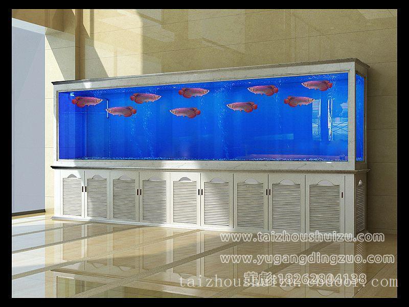 泰州定做实木鱼缸,海鲜缸