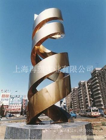 不锈钢镂空雕塑-上海不锈钢雕塑-ebd