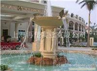 上海砂岩雕塑公司 砂岩喷水雕塑-上海雕塑公司-EBD