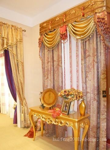 南京欧式窗帘设计订做