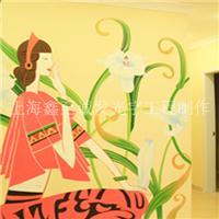 墙绘图案/墙绘素材/彩绘素材/墙画图案