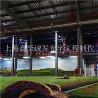 工厂彩绘/上海车间墙面彩绘/上海厂房墙绘/流水线车间彩色绘画