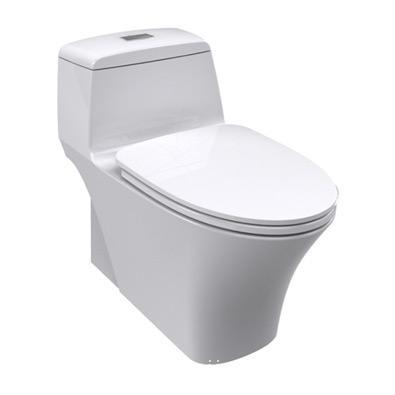 逸韵 3/4.8升超强节水型连体座厕(底排400mm)