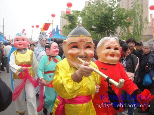 上海民间艺术表演_三林演出图片