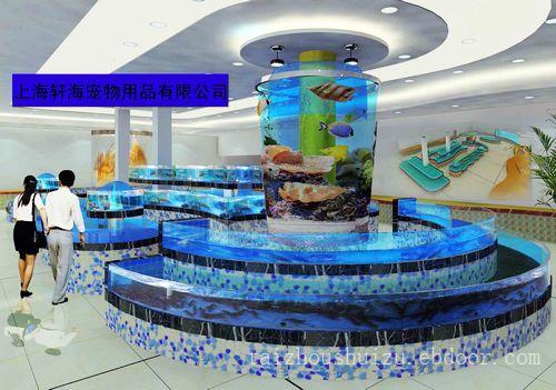 酒店海鲜缸1