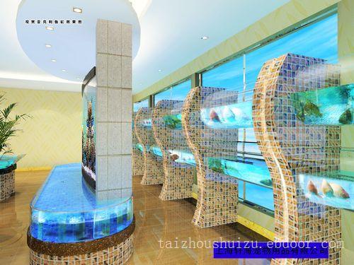 酒店海鲜缸7