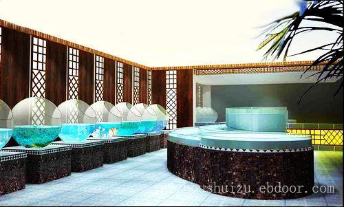 酒店海鲜缸9