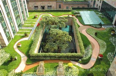 上海空中花园设计