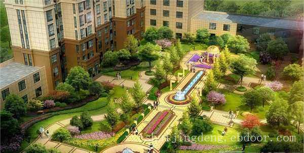 湖州居住小区景观设计,湖州住宅区园林绿化,湖州小区植物配置
