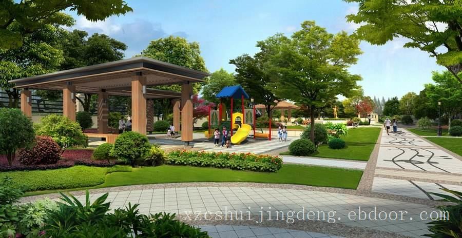 义乌景观营造-小区景观,义乌小区园林景观设计,义乌住宅区竞博电竞官网施工