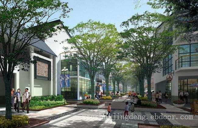 上海商业街景观公司,上海商业街植物景观