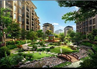 小区景观设计公司、小区景观绿化工程、小区园林绿化设计