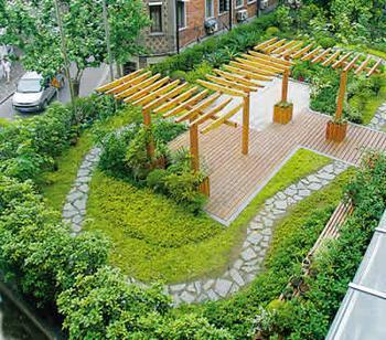 上海屋顶植物绿化公司、上海屋顶植物绿化设计施工