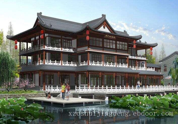 上海园林仿古建筑、上海园林仿古建筑设计、上海园林仿古建筑公司