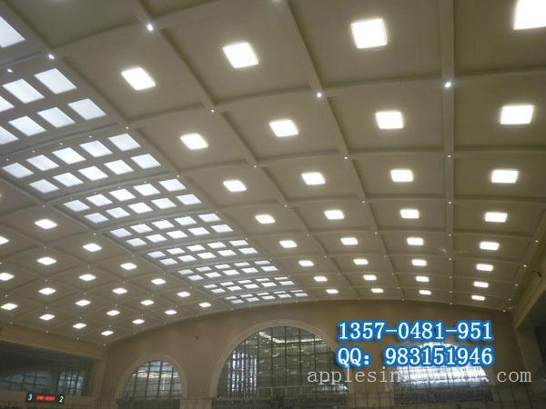 天花铝扣板贴图 金属吊顶 U型槽铝方通