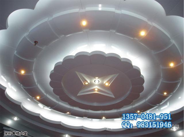 铝扣板用途 铝天花边角 造型天花