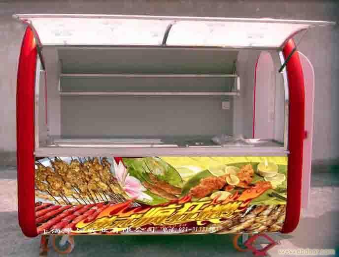 烤麻辣汤小吃车价格 移动烧烤车价格 高清图片
