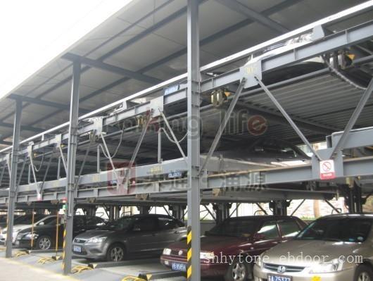 智能立体停车库价格_三层升降横移停车库价格