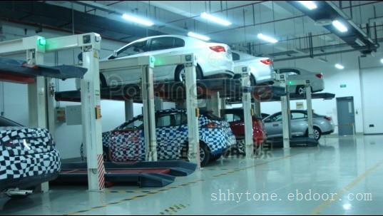 立体车库和交通设施_四立柱立体停车设备
