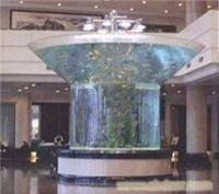 宾馆鱼缸制作
