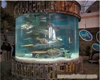 酒店鱼缸制作