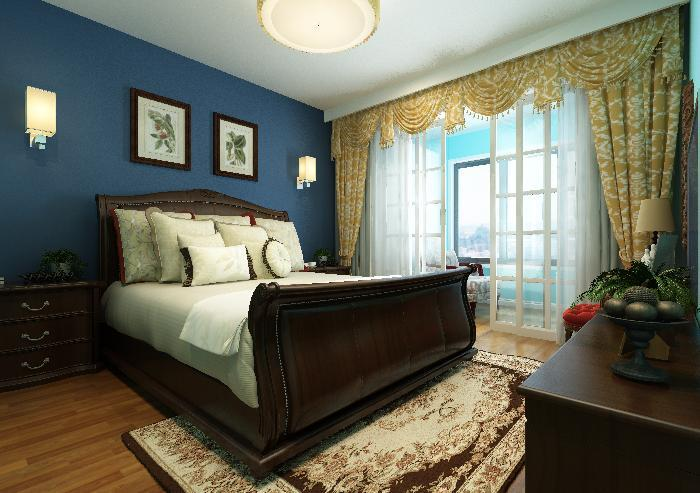 卧室装饰设计_上海室内装饰设计公司