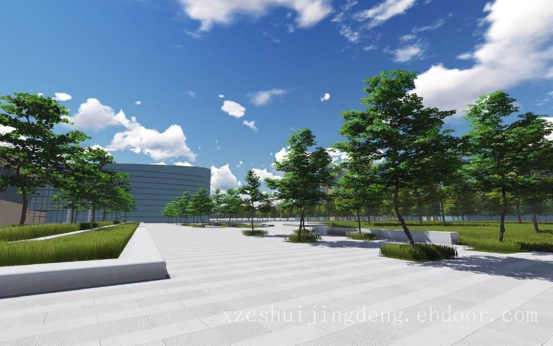 浙江商業廣場景觀綠化,商業廣場綠化設計