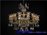 铜灯md39076-12+6 上海水晶灯