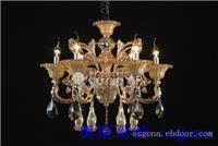 铜灯39082 6 上海水晶灯