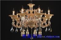 铜灯39082 8 上海水晶灯