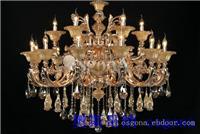 铜灯39082 12+6 上海水晶灯