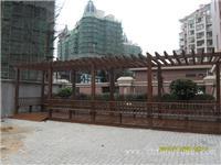 上海防腐木花架价格