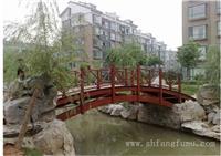 上海防腐木拱桥价格