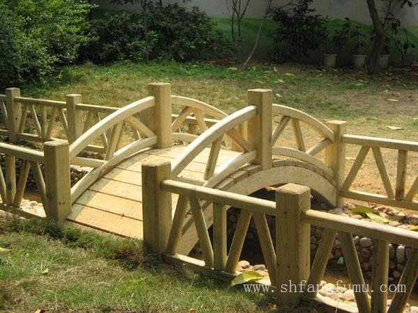 上海防腐木小桥制作