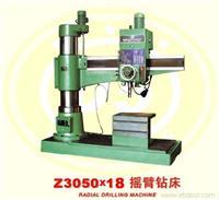 加长摇臂钻床,Z3050×18 PLC控制全液压