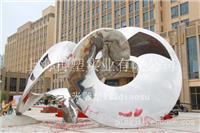 镜面不锈钢雕塑/原创雕塑设计/广场标志性雕塑
