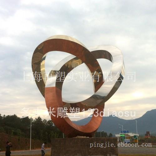 镜面不锈钢动物雕塑/不锈钢抽象雕塑/现代不锈钢雕塑