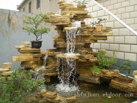 上海假山设计制作,千层石假山