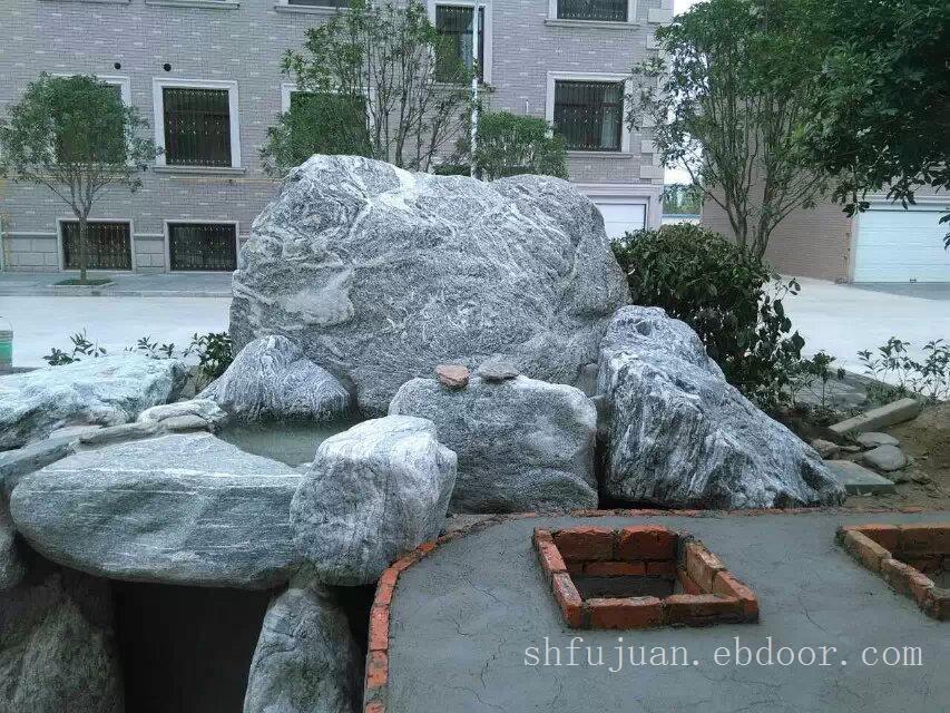 上海景观石厂家,泰山石