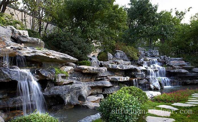 太湖石假山,太湖山假山设计,上海假山设计公司