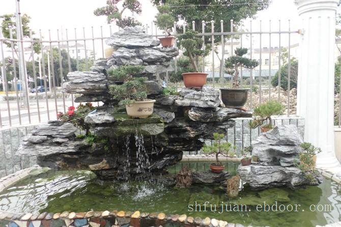 英石假山制作,上海假山制作,上海别墅假山设计