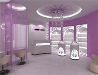 上海道具设计制作_化妆品展示柜