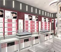 上海道具设计制作_化妆品展示架