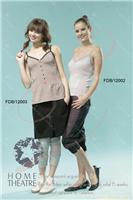 上海添香电磁波防护收腰节针织吊带衫