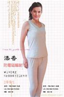 银纤维女式长裤