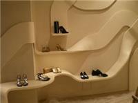 商场道具设计制作_鞋墙道具制作