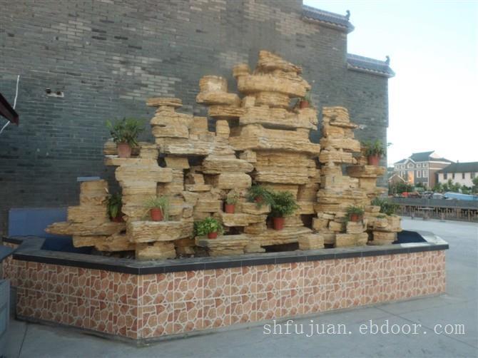 千层石假山设计制作,上海假山设计公司,上海假山设计