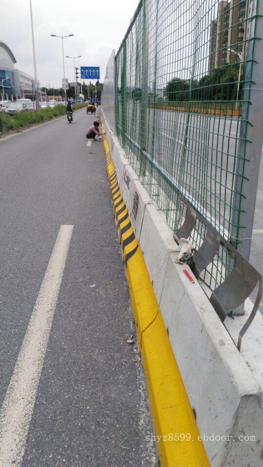 上海交通水泥隔离墩_上海交通道路护栏
