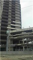 电动吊篮施工|荣乐东路幕墙工程